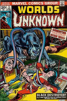 Marvel Comics, Worlds Unknown #5, Black Destroyer, AE Van Vogt