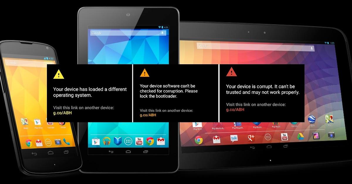 Android dá alertas no caso de alterações no sistema