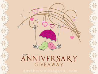 2nd Anniversary Giveaway by QCEY