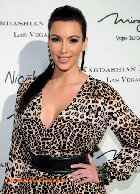 Kim Kardashian Hot Dress in Las Vegas