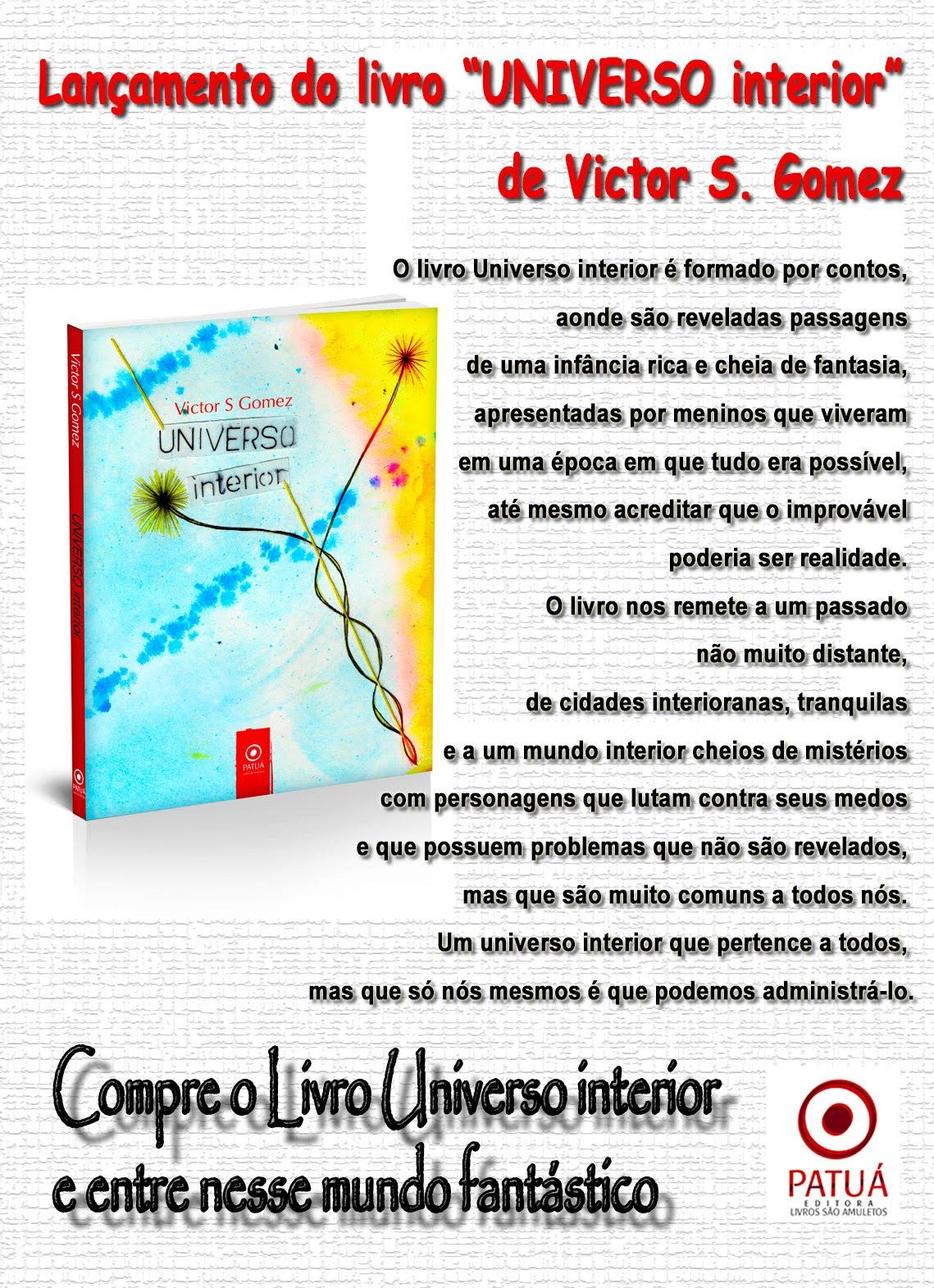 """Livro """"Universo Interior"""""""