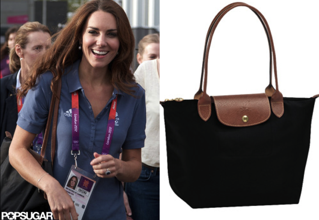 ea4c9d52eb9a After watching the Duchess of Cambridge carry a Longchamp tote throughout  most of her Olympic appearances