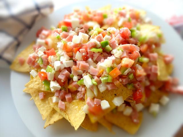 Ensalada de Nachos (Ensalada Mexicana)