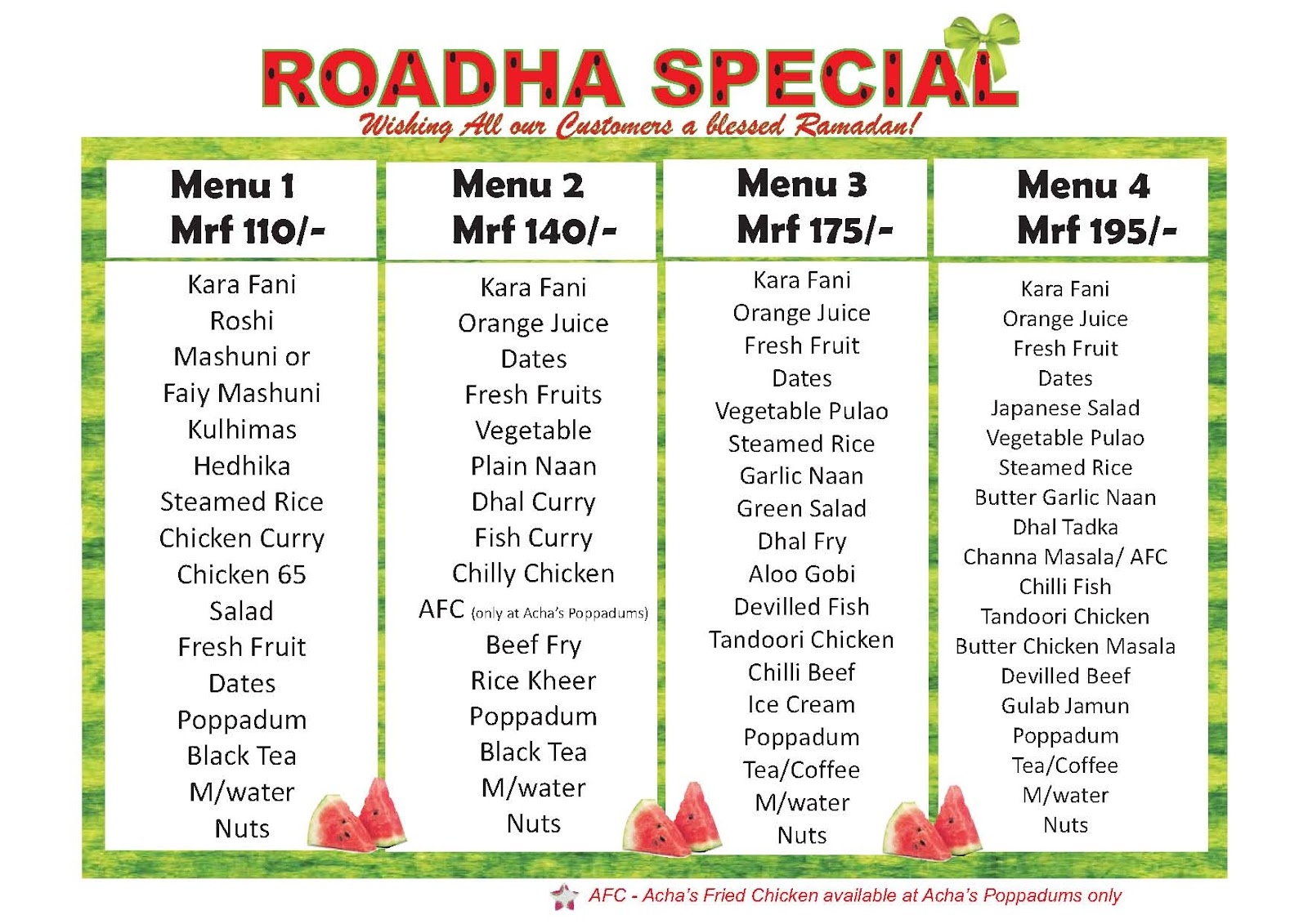 Tickle Your Taste Buds Poppadums And Achas Together Offer A