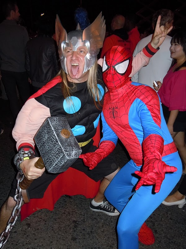 West Hollywood Halloween Thor 2010