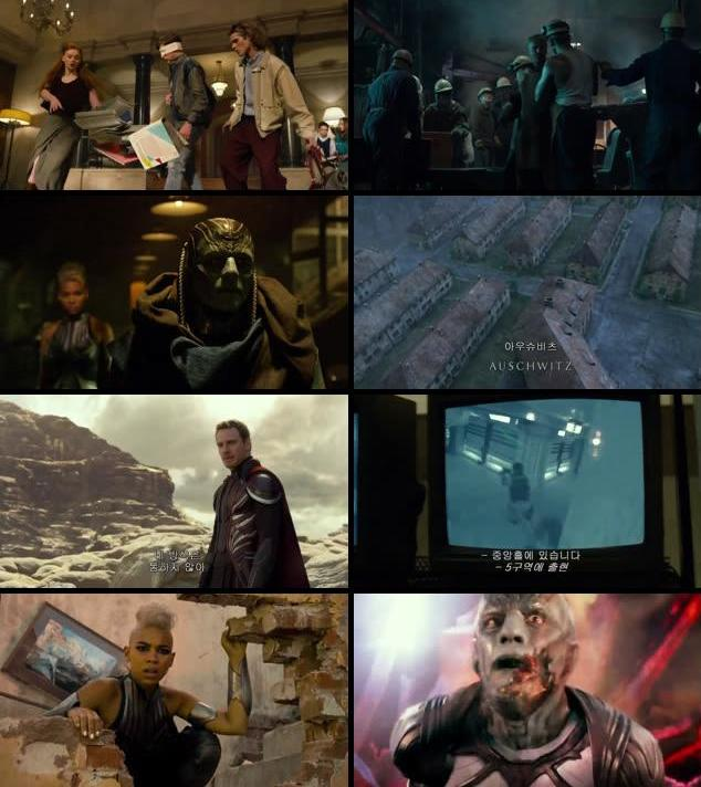 X-Men Apocalypse 2016 Dual Audio Hindi 720p HC HDRip
