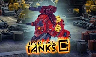 Screenshots of the Unreal Tanks for Android tablet, phone.