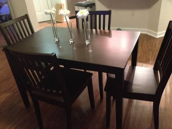 28 Dining Table Craigslist Dining Table Dining  : diningtableandfourchairsaustintexasblog100 from americanroadtrip.us size 600 x 450 jpeg 27kB