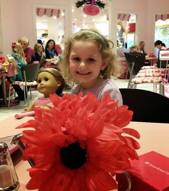 American Girl Doll Bistro in Charlotte, N.C.