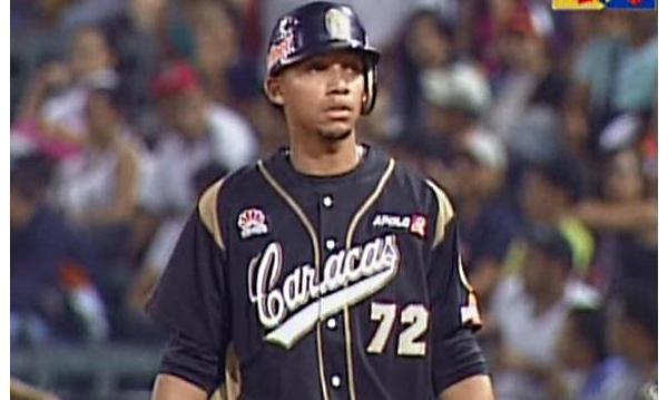 Dixon Machado primer hit en venezuela