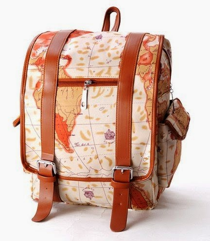 Backpack for traveling