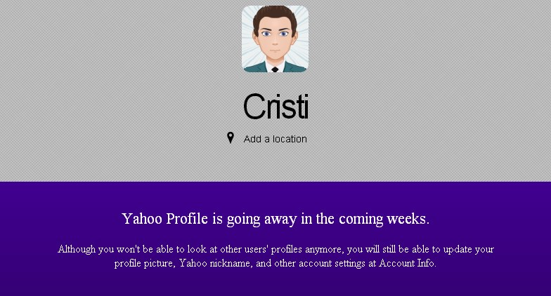 profiluri Yahoo