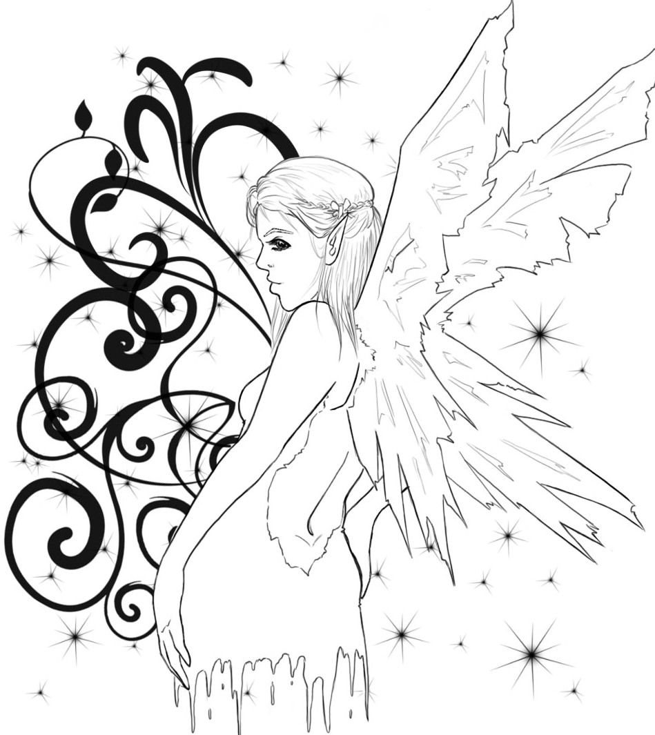 Fairies tattoos designs - Fairy Tattoo Designs Are Mostly Recommended By Women For Its Womanly Attraction And Men May Choose This Design Of Human Tattoo Designs But More Like An