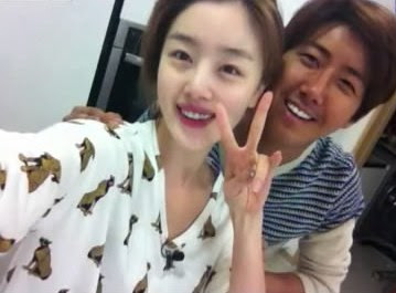 together, Sunhwa and Kwanghee are back to showcase their bare faces
