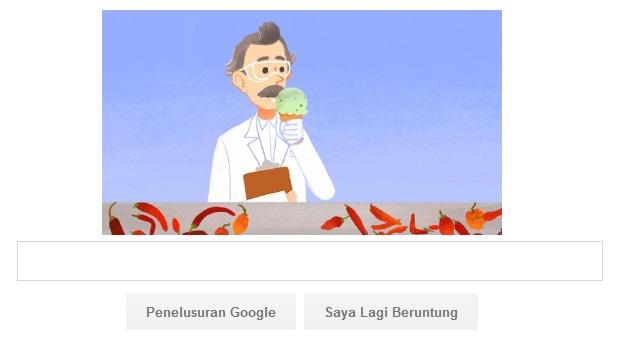 Logo Google Ulang Tahun WILBUR SCOVILLE Ke-151 Gambar Bisa Di Mainkan