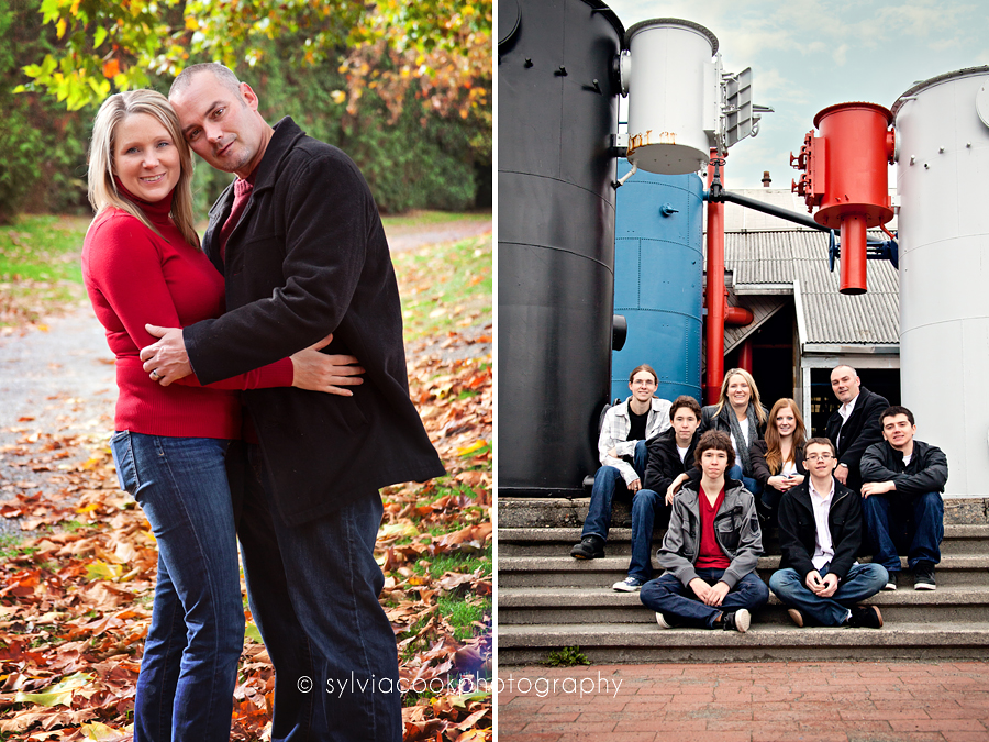 Gasworks park family session
