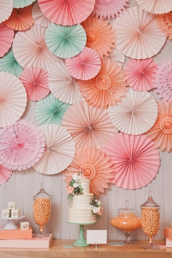 Strawberry Fizz Party Ideas: Pretty Things - Wall Decorations