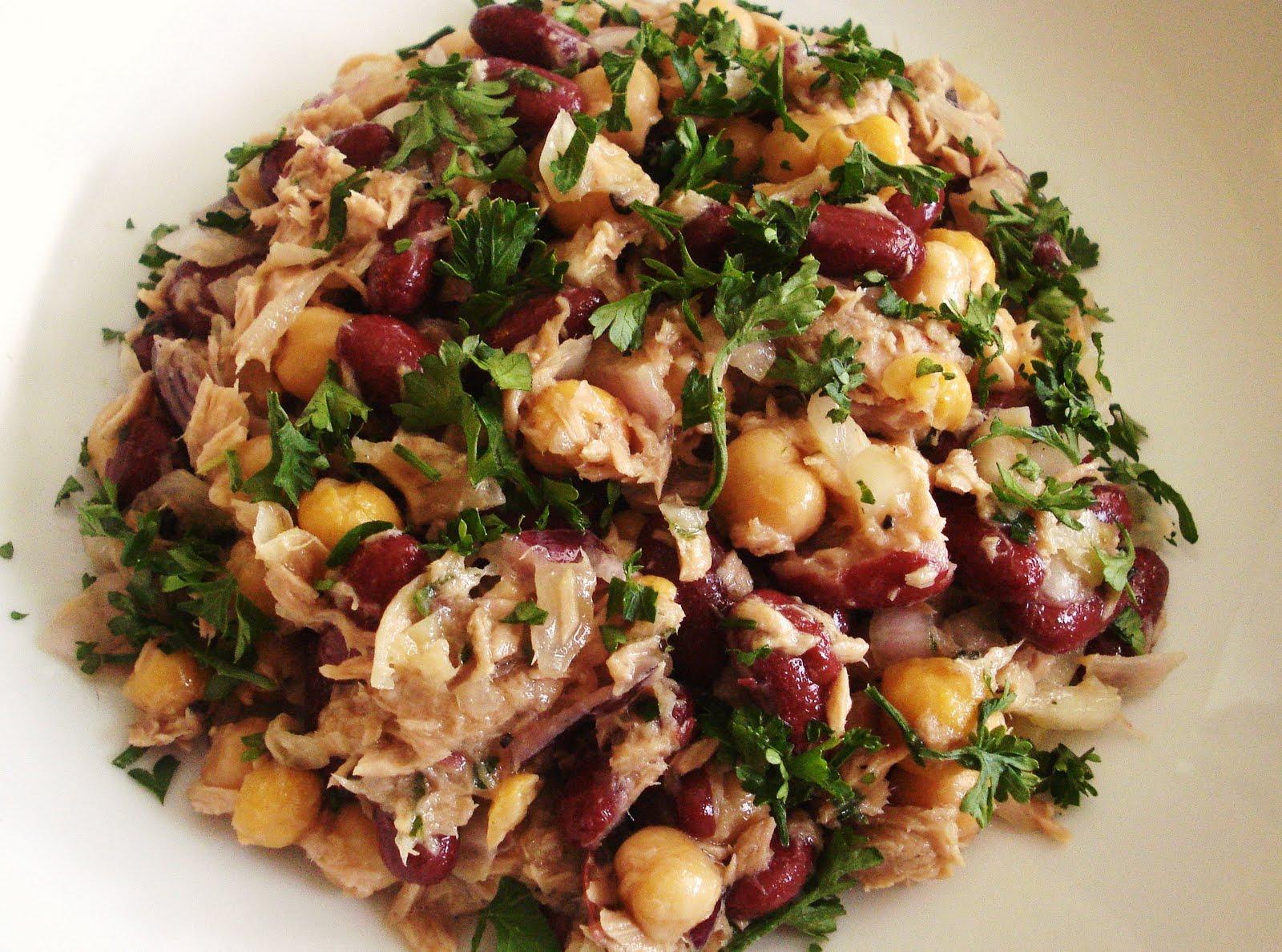 Presque v g salade de thon et de l gumineuses - Cuisiner la veille pour le lendemain ...