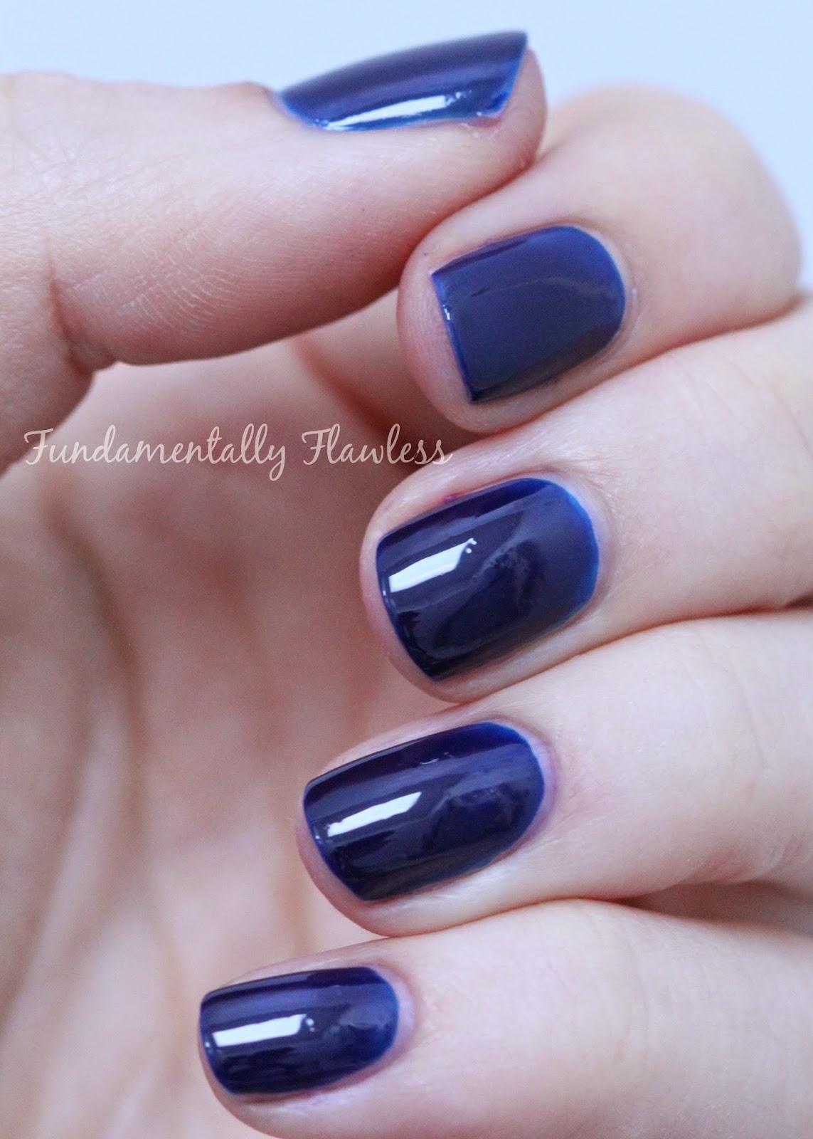 Models Own Autumn Hypergel Inky Blue swatch