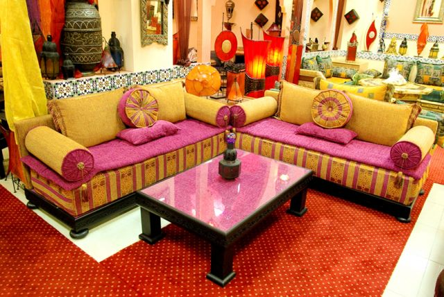 Mai 2013 d coration salon marocain moderne 2016 for Decoration salon 2016