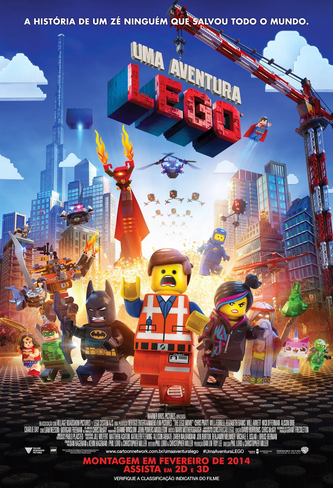 Uma Aventura LEGO Download Filme