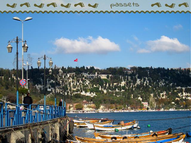 Parada del ferry en Eyüp