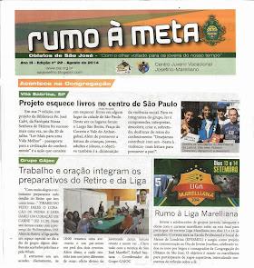 """""""RUMO A META"""" DIVULGA ESQUECIMENTO DE LIVROS"""