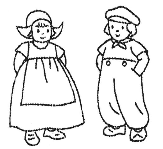 dutch children coloring pages - photo#1