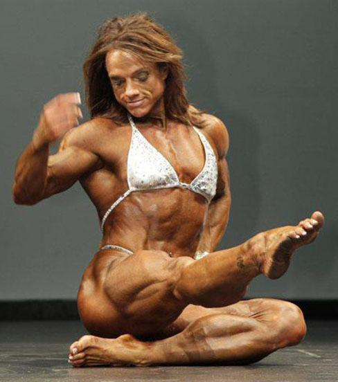Sheila Bleck Female Muscle Legs Bodybuilding Blog Ripped