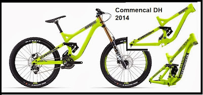 frame commencal dh supreme wc 2014