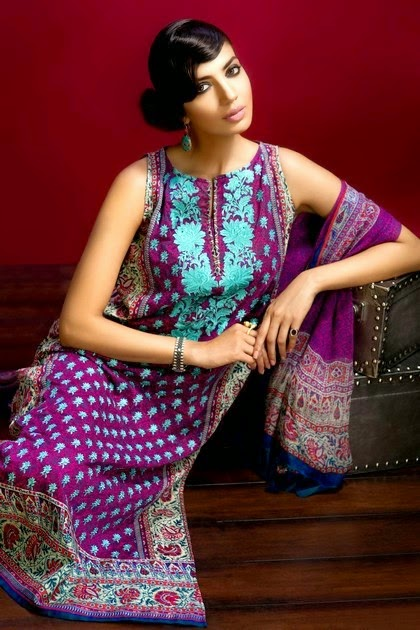 Summer Lawn Collection 2014 by Khaadi