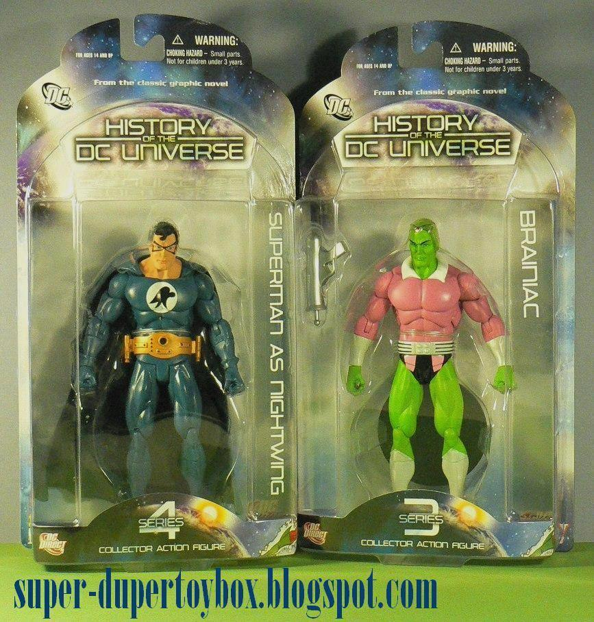 Superman as Nightwing Action Figure History of The DC Universe Series 4