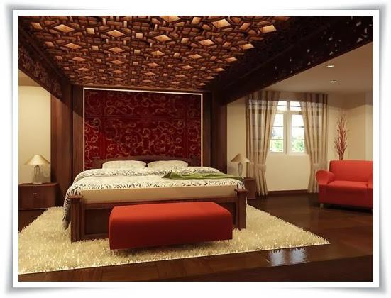 Phòng ngủ tại biệt thự Saigon pearl quận Bình Thạnh