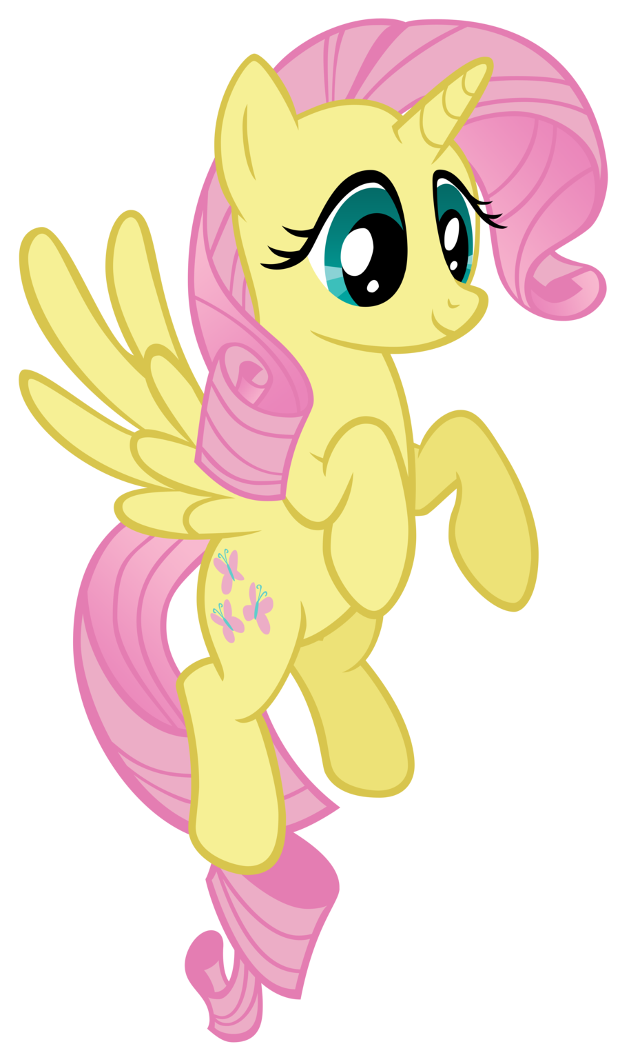 Look inspiré de Fluttershy (My Little Pony: Friendship is Magic)