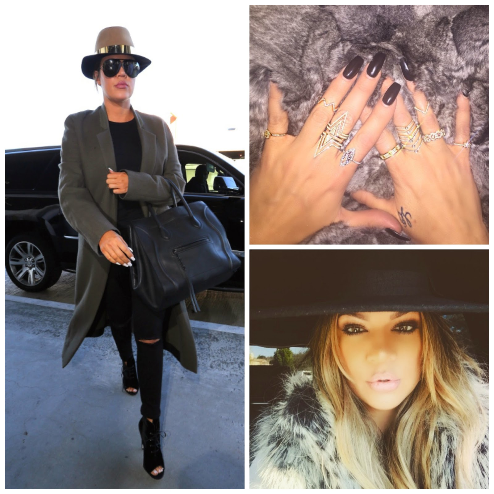 khloe kardashian get the look street style fashion blog