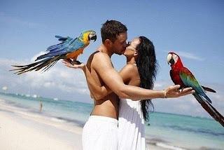 Besos en el paraiso