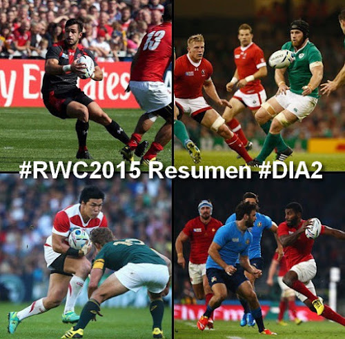 #RWC2015 Review #DIA2: Rugby en estado puro