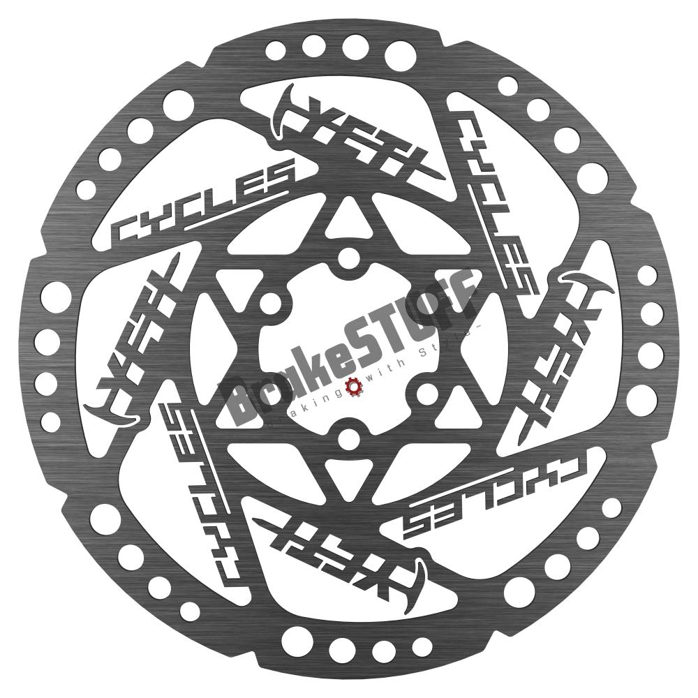 Bremsscheibe im YETI Design