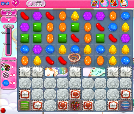 Candy Crush Saga 438