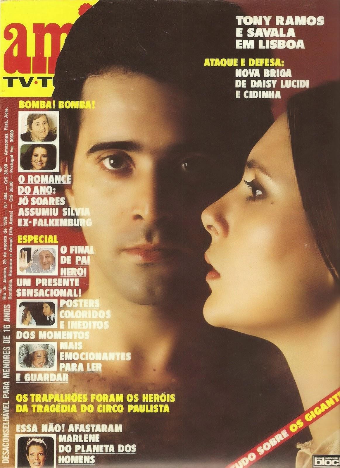 Dayse Lucidi Delightful tudo isso é tv: as capas da revista amiga 1979 - parte 2 final