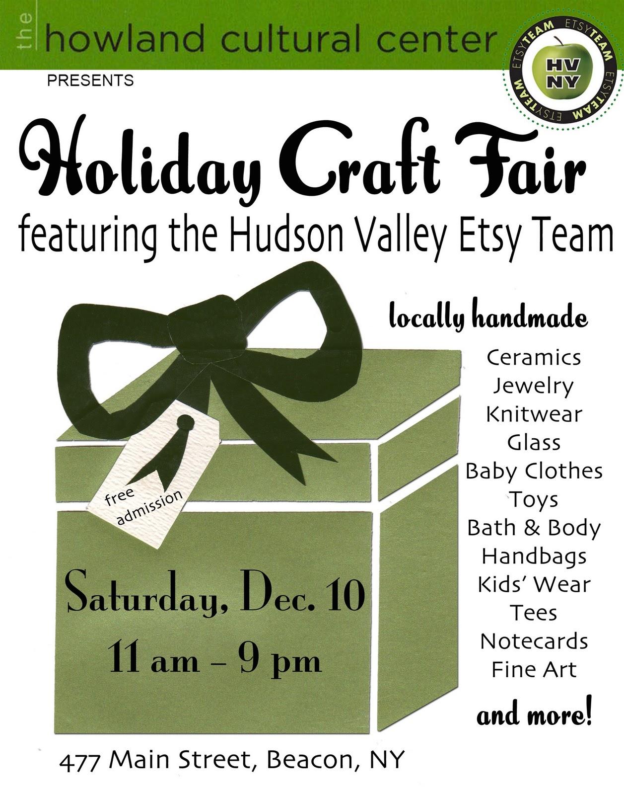 Etsy Craft Fair Hudson Ny