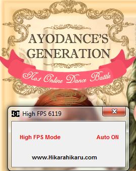 Cheat Up High FPS AyoDance V6119 2015