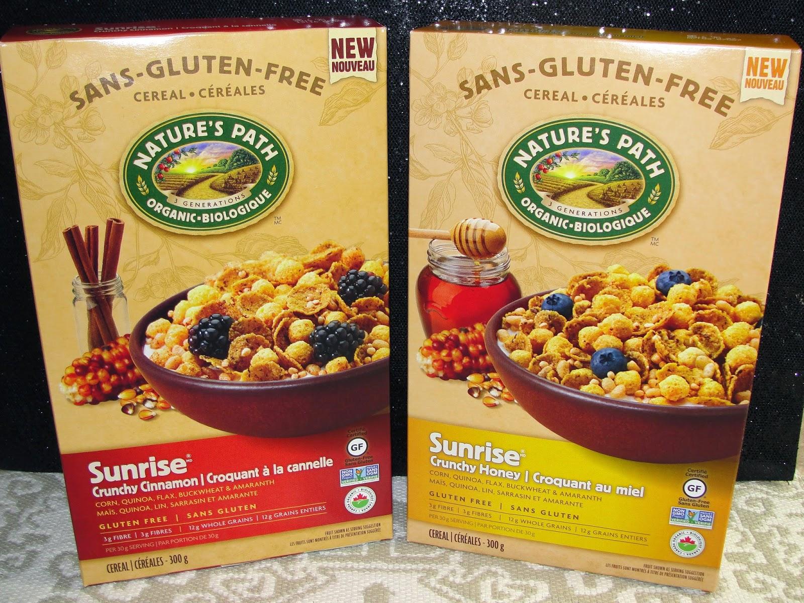 Non gmo gluten free cereal