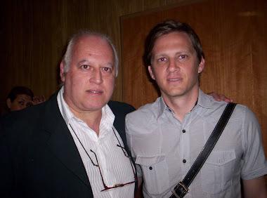 Con Gustavo Lombardi (TYC Sports)