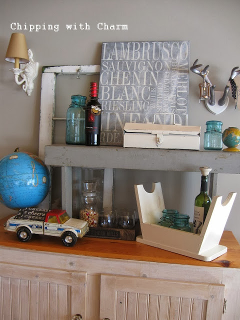 Chipping with Charm:  Accidental Wine Bar...http://www.chippingwithcharm.blogspot.com/