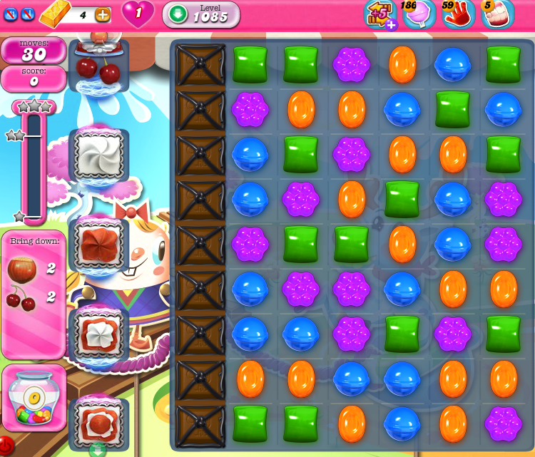 Candy Crush Saga 1085