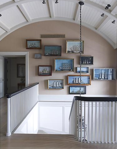 ship gallery wall