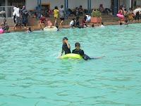 Wisata Karawang: Berenang Sambil Bermain Di Tirtasari