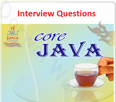 Core Java interview Question