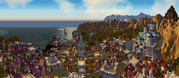 Штормград - Панорамные скриншоты